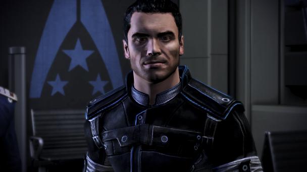 Kaidan returns in Mass Effect 3.